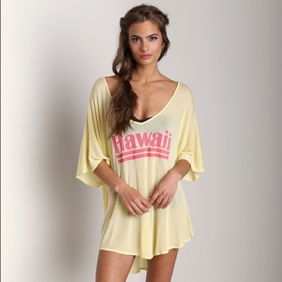 Wildfox Hawaiin Dream Tahiti Tunic XS